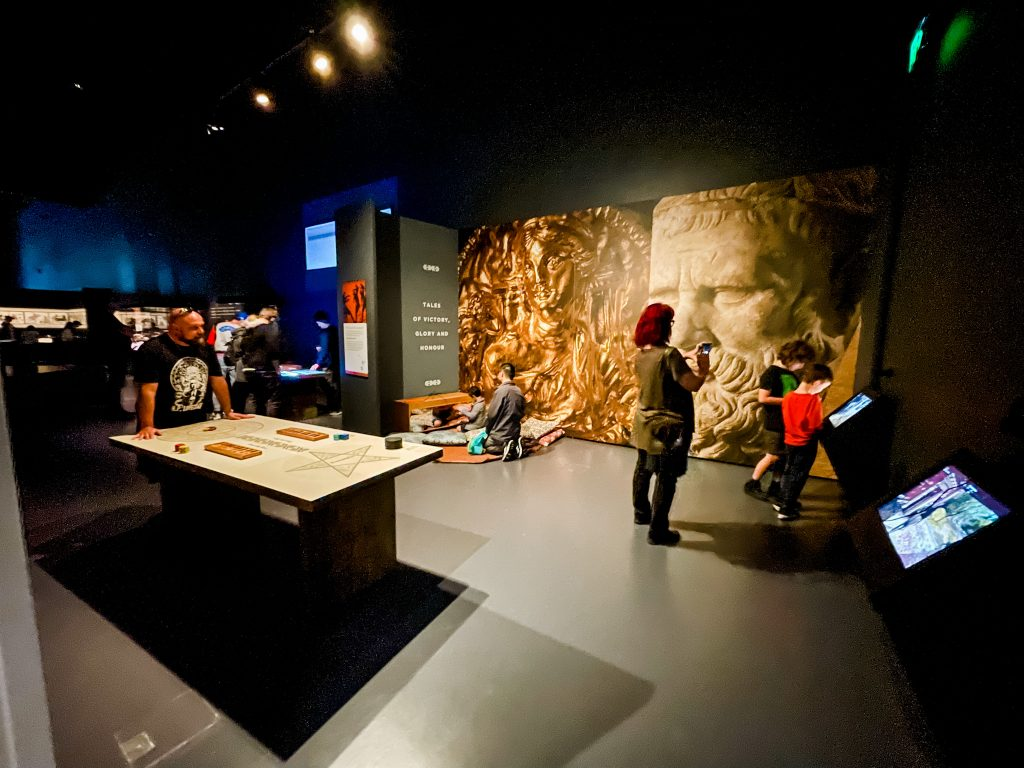 Ancient Greeks: Athletes, Warriors and Heroes Exhibition at WA Museum Boola Bardip
