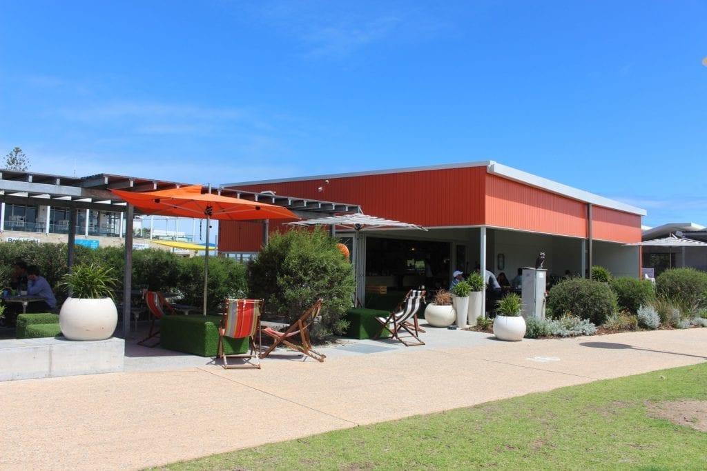 The Orange Box, Leighton Beach